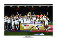 2020 CHAMPIONS LIMITED EDITION PRINT PHOTO LEEDS UNITED UTD TROPHY TEAM SQUAD