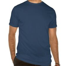 Almond fine surfing board navy blue T shirt Size S