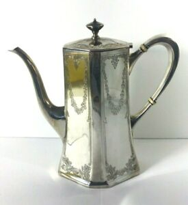 Gorham Sterling Silver Coffee Tea Pot 1 1/4 Pt. 151 5 A No Mono Early 1900's