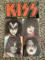 VGT KISS WORLD TOUR CONCERT BOOK 1977-1978 ORIGINAL