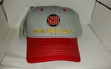 NEW HOLLAND throwback Trademark Logo TRADTIONAL Twill CAP HAT BRAND NEW nice!