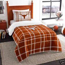 Texas Longhorns comforter bedding 5PC 64x86 Twin size sham sheets FREE SHIPPING