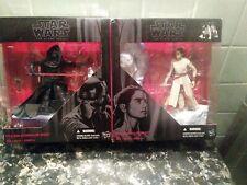 """Star Wars Kylo Ren & Rey Starkiller Base The Black Series 6"""" New"""