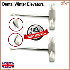 Set Of 2 Winter Elevators Dental Surgery Root Tooth elevator Surgical Lab Tools