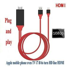 HDMI Cable for iPhone to Projector TV HDMI Cable 1080P HDTV Adapter iPhone X