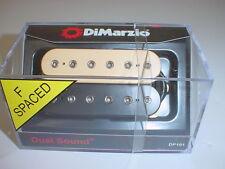DIMARZIO DP101 Dual Sound Humbucker Guitar Pickup BLACK / CREME F-SPACED ZEBRA