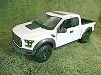 MAISTO SE Trucks.....2017 Ford F-150 Raptor....1:24...DieCast. White