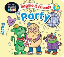 ABC Reading Eggs - Reggie & Friends Bath Books - PARTY