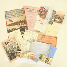 Collectable World War I (1914-1918) Army Documents & Maps