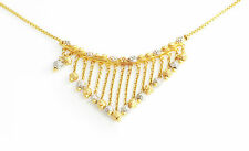 22CT GOLD DECORATIVE NECKLACE, HALLMARKED 10.7G 5 INCHES, SECOND HAND JEWELLERY