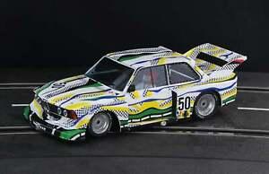 Racer Sideways BMW 320 Group 5 Le Mans 1977 Art Car SW72 1/32 Slot Car