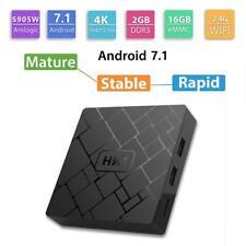 HK1 Android7.1 S905W QuadCore 2+16G Smart TV 4K 3D WIFI Set-top Box Media Player
