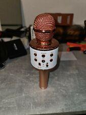 Fede Karaoke Mikrofon Drahtloses Bluetooth Mikrofon für Kinder Lustige Gesche...