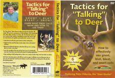 Deer Hunting Tactics for Talking to Deer Grunt Blat Bleat Snort Calls DVD New