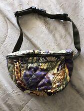 NEW VINTAGE *RARE* Women's Salvatore Ferragamo Fanny Pack Bum Bag Belt Canvas