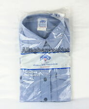 Womens MEDIUM CHAMBRAY Blue Long Sleeve Button Down Boyfriend-Look SHIRT NIB