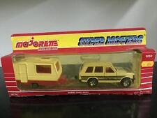 Majorette Super Movers Serie 3040-3050 1:36 RANGE ROVER CAMPING TRAILER Caravan