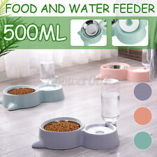 Automatic Pet Feeder Drinking Water Fountains 500ML Large Capacity For Cats