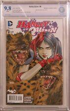 Harley Quinn vol 2 #8 - Dan Panosian Variant Cover 1:25 - CBCS 9.8 (NOT CGC)