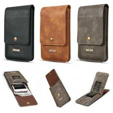 Universal Phone PU Leather Case Cover Pouch Bag Belt Clip Loop Holster Card Slot