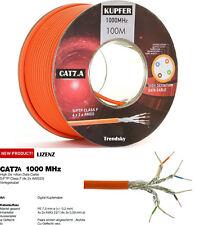 100m cat.7a Cavo Rete LAN Cavo dati Cavo Posa RAME S-FTP/PIMF cat7 a