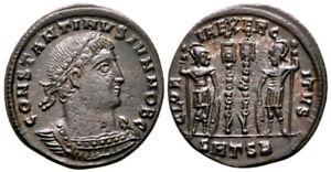 CONSTANTINE II (330-335 AD) Ae3 Follis. Thessalonica #RA 8593