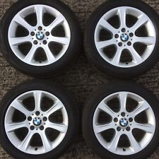 "Set Genuine BMW 17"" 3 4 series Alloy Wheels F30 F31 F32 F33 F36 Tyres 225 50 394"
