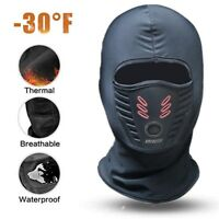 Cold Weather Thermal Balaclava Face Mask Winter Fleece Waterproof Balaclava Mask