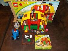 LEGO ® Duplo Fattoria - 5649-Grande fattoria con confezione originale (OVP) + Ba
