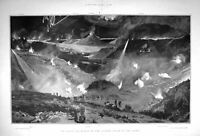 Old Antique Print 1904 Night Attack War Battle Port Arthur Japan Ringan 20th