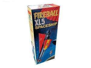 Quercetti Fireball XL5 Spaceship Repro Box