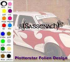 Sassenach Outlander Aufkleber Sticker Schottland Fraser Bree Serie Autoaufkleber