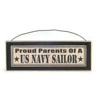 Proud Parents of a US Navy Sailor Sign | Military Gifts | Navy Gifts | Plaques