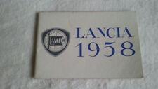 32B 165 1958 Lancia Aurelia GT Appia Flaminia Prospekt Brochure italienisch