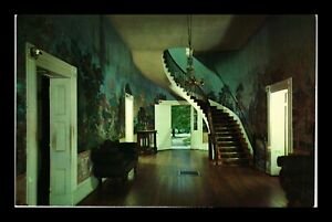 US POSTCARD HALL OF THE HERMITAGE INTERIOR ANDREW JACKSON HOME TENNESSEE