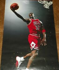"VINTAGE 1997 MICHAEL JORDAN Chicago Bulls POSTER 23' x 35"" NBA Costacos"