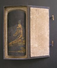 Chinese Exquisite Hand-made Calligraphy Carving Ink Block