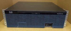 Cisco 3925 CISCO3925E/K9 Gigabit Ethernet Network Integrated Services Router ISR