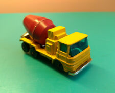 Old Collectible Diecast ERF 66GX Toy Cement Mixer Truck Made In Great Britain