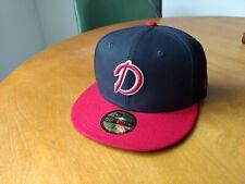 Danville Braves New Era cap hat size 7 1/2 NWT Atlanta Rome Gwinnett Mississippi