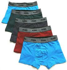 5 Jungen Boxershorts Unterhose Baumwolle Gr. 122/128 134/140 146/152 158/164 170