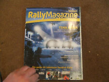 2007 WRC Uddeholm Swedish Rally Official Magazine Programme