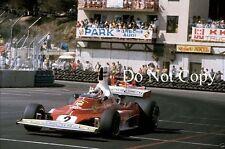 Clay Regazzoni Ferrari 312T Long Beach Grand Prix 1976 Photograph 1