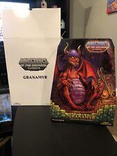 GRANAMYR (Red) Masters of the Universe Classics Figure - NIB - Mattel MOTU MOTUC