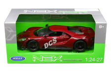 WELLY 2017 FORD GT 1/24 DIECAST MODEL CAR BROWN RED 24082
