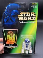 Holo Kenner Star Wars 1997 Power Of The Force R2-D2 MOC MIB
