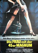 Frau mit der 45er Magnum Ms. 45 Filmposter A1 Angel of Vengeance Zoë Lund