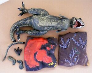 Aurora Prehistoric Scenes Allosaurus Model Kit Incomplete