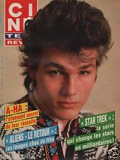 Couverture magazine,Coverage Ciné Télé Revue 25/09/86 Groupe A-Ha Morten Harket