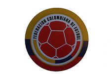 COLOMBIA FEDERACION.. LOGO FIFA SOCCER WORLD CUP CAR MAGNET..SIZE:6.2 X 6.2 INCH